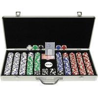 Trademark Global Games Trademark Global Holdem Poker Chip Set with Executive Aluminum Case