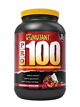 Mutant - PRO 100 Gourmet Whey Protein Shake Strawberries & Cream - 32 oz.