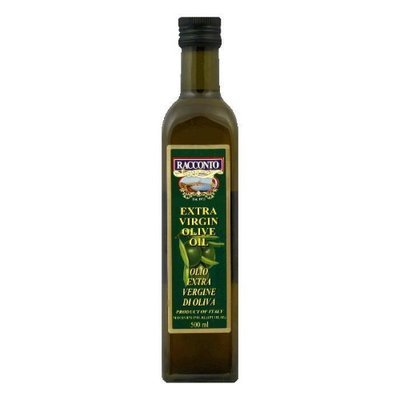 Racconto Extra Virgin Olive Oil Square 16.9 Fl Oz Pack Of 12