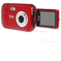 Vivitar 7.1MP Digital Camera with 4.0x Optical Image Stabilized Zoom and 1.8-Inch LCD (Pink) - V7028-PNK