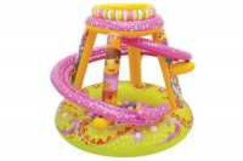 Disney Nickelodeon Dora Let's Explore inflatable playland with 50 Balls