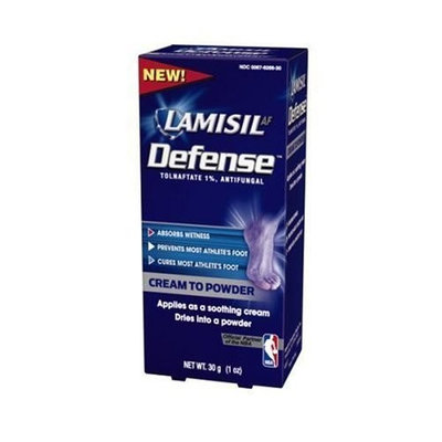 Lamisil At Defense Cream To Powder, 1-Ounce Boxes (Pack of 3)
