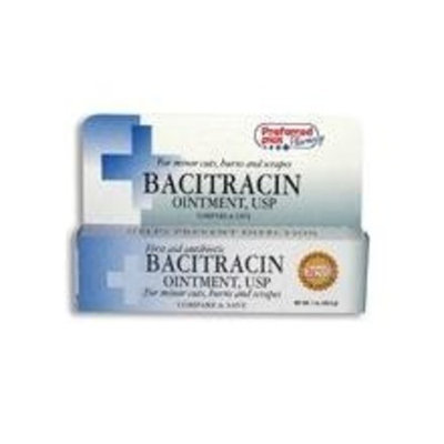 Bacitracin First aid Antibiotic Ointment, USP - 1 Oz