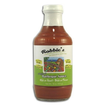 Robbie's Natural Robbie's All Natural Barbeque Sauce, 18 oz. bottle