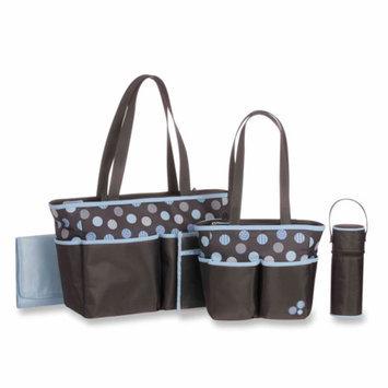 Baby Boom 5 pc Diaper Bag Set - Dot Print