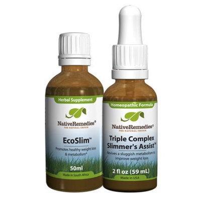 Native Remedies Native Remedies Slim ComboPack - Triple Complex Slimmer's Assist + EcoSlim
