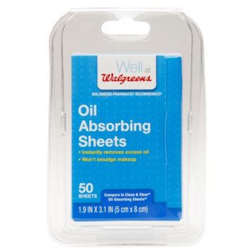 Walgreens Oil Absorbing Sheets, 50 ea