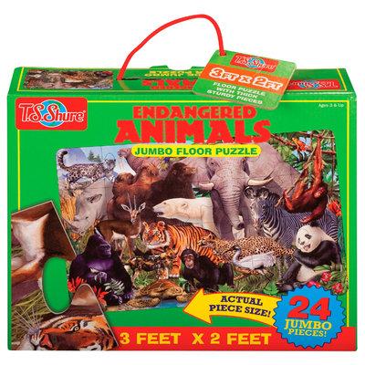 T.s. Shure T.S. Shure Endangered Animals Jumbo Floor Puzzle