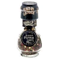 Drogheria & Alimentari All Natural Spice Grinder Four Seasons Peppercorns , 1.23 Ounce Jars (Pack of 3)