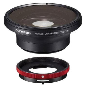 Olympus FCON-T01 Fisheye Converter Lens & CLA-T01 Adapter Ring Tough Lens Pack