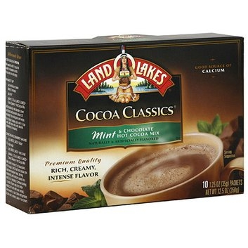 Land O'Lakes Cocoa Classics Mint & Chocolate Hot Cocoa Mix