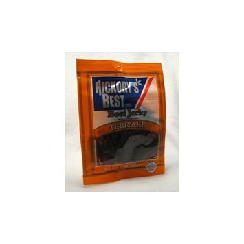 Hickorys Best Beef Jerky - Teriyaki (Case of 12)