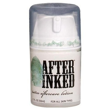 After Inked Tattoo Moisturizer and Aftercare Lotion 1.70 Ounces
