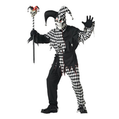 California Costume Collections California Costume Collection 20572 Evil Jester Adult Size Large
