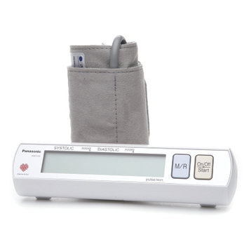 Panasonic Portable Automatic Arm Blood Pressure Monitor, Model EW 3109W, 1 ea