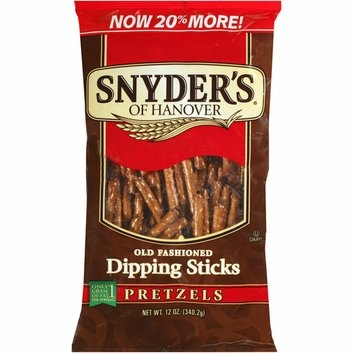 Snyder's of Hanover Old-Fashioned Dipping Sticks Pretzels