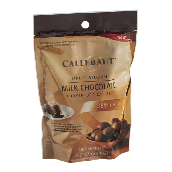 Callebaut Couverture Callets Milk Chocolate