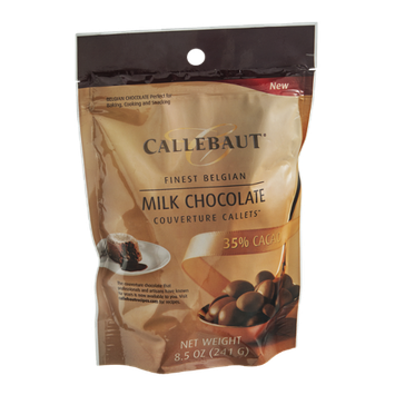 Callebaut Couverture Callets Milk Chocolate