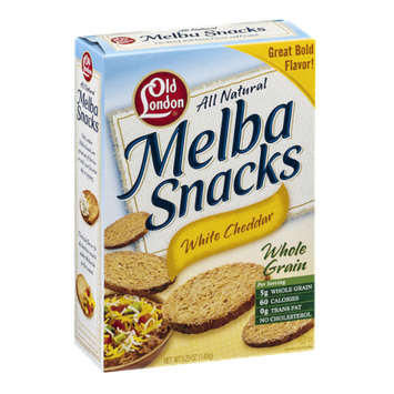 Old London Melba Toast White Cheddar