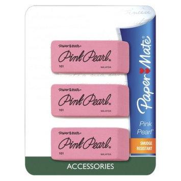 Paper Mate Papermate 3ct Pearl Eraser