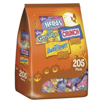 Nestlé U.S.A. Nestlé Assorted Chocolate and Sugar Bag Butterfinger, Crunch, Nerds