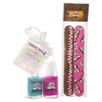 Rockhouse Industries, Inc Piggy Paint Play Toes Non-Toxic Nail Polish with Nail File Set