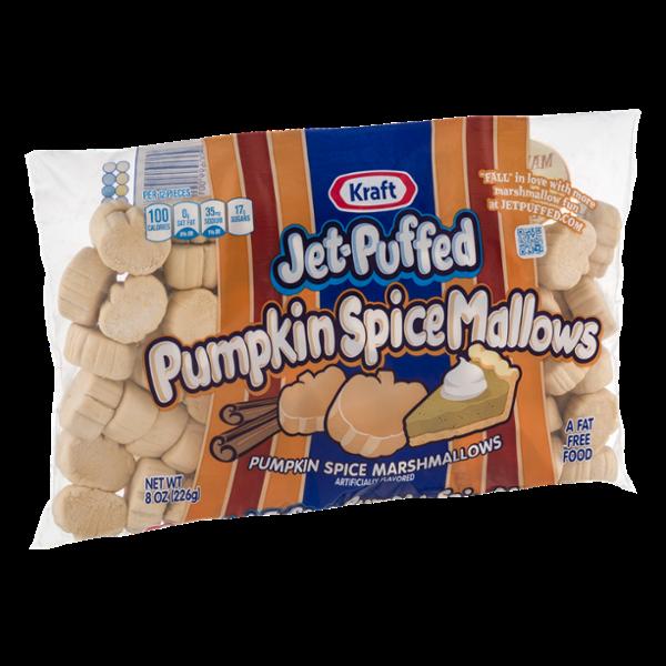 Kraft Jet-Puffed Pumpkin Spice Mallows