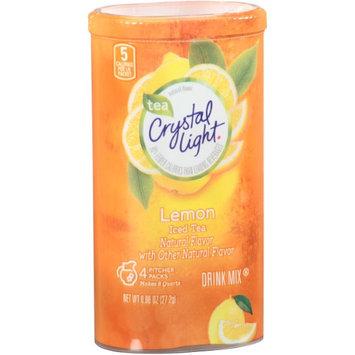 Crystal Light Pitcher Pack, Natural Lemon Iced Tea, 0.96 Oz