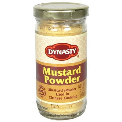 Dynasty Mustard Powder, 2-Ounce Jars (Pack of 12)