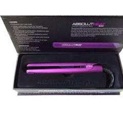 Absolutheat IPS Intelligent Professional Series 1 1/4 Inch Hair Flat Iron Ionic Purple Metallic