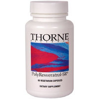 THORNE RESEARCH - PolyResveratrol-SR - 60ct Health and Beauty