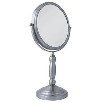 Zadro Two Sided Vanity Swivel Mirror- 1X & 10X