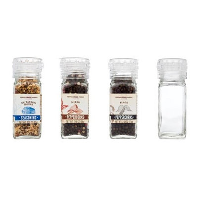 Pepper Creek Farms 601A Mixed Peppercorns Large With Grinder - Pack of 6