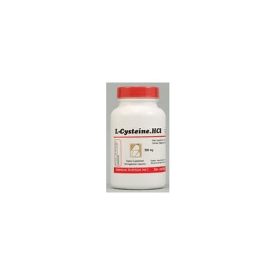 Intensive Nutrition L-Cysteine HCl -- 500 mg - 100 Vegetarian Capsules