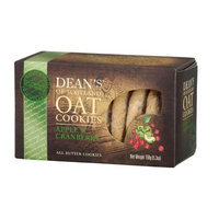 Brands of Britain Dean's of Scotland Apple & Cranberry Oat Cookies, 5.3-Ounce Boxes (Pack of 4)