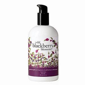philosophy wild blackberry blossom body lotion