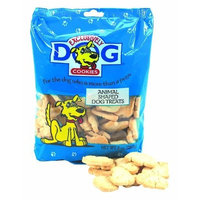 Exclusively Dog Cookies, Animal Shaped Dog Treats, 8-Ounce Package