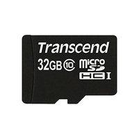 Transcend TS32GUSDC10 32GB Micro SDHC Card, Class 10