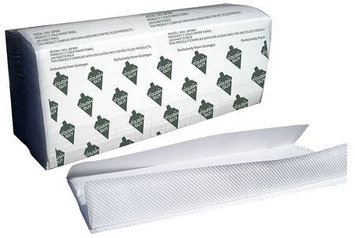 TOUGH GUY 36P069 Paper Towel,C-Fold, White, PK12