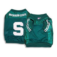 Sporty K9 Football Jersey - Michigan State University