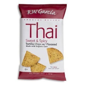 Rw Garcia R. W. Garcia Tortilla Chips, Thai Special Recipe 7 oz. (Pack of 12)