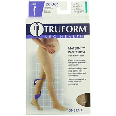 Truform 1757, Maternity Compression Pantyhose, 20-30 mmHg, Beige, Medium