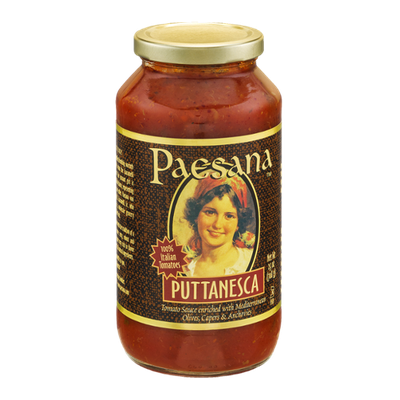 Paesana Tomato Sauce Puttanesca