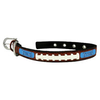 GameWear Tennessee Titans Classic Leather Small Football Collar