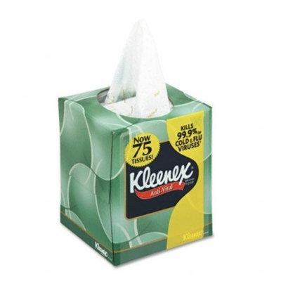 Kimberly-clark KIM28075CT - Kleenex Anti-Viral Facial Tissue