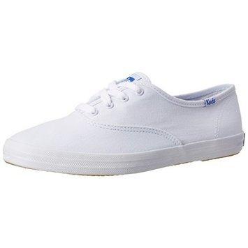 Keds Women's Champion Original Canvas Sneaker [White Canvas, 7 B(M) US]