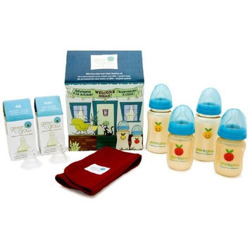 Green to Grow Mellow Colic-Relief Wide Neck Welcome Home Set