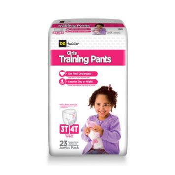 DG Toddler Training Pants for Girls 3T-4T - 23ct