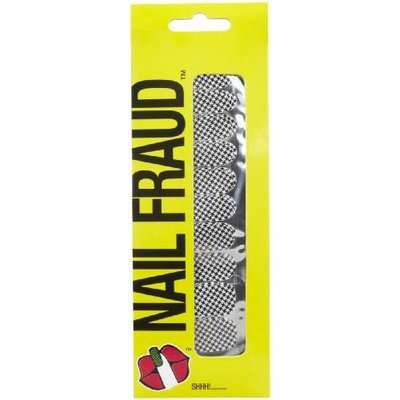Nail Fraud Nail Polish Strips - Houndstooth Hotty