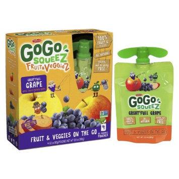 GoGo SqueeZ GoGo squeeZ Fruit & VeggieZ Great'full Grape